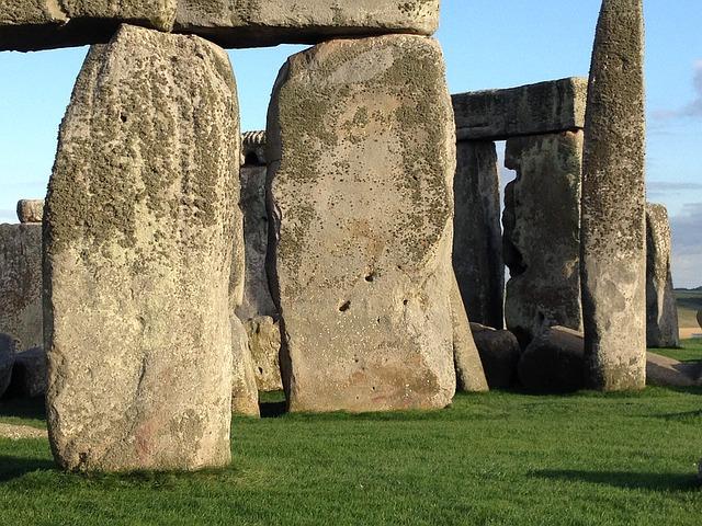 Stonehenge kameny