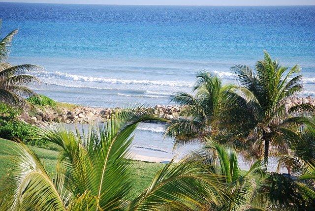 pláž na Jamajce