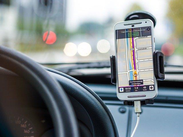navigace v autě