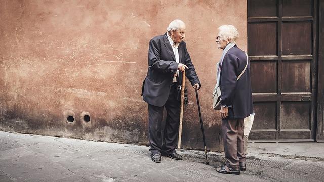 hovor důchodců