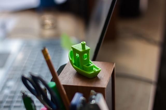 zelená lodička