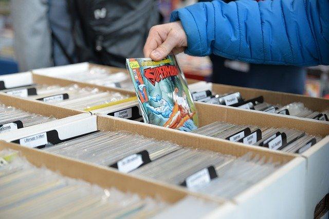 prodej comiksů