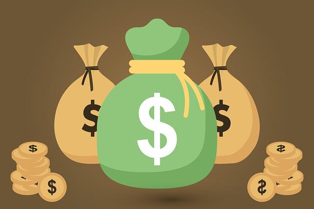 pytle s penězi